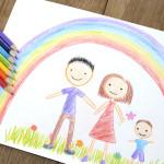 ¿Qué nos dice el dibujo de la familia de los niños?