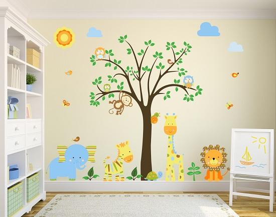 Una habitaci n muy especial funny mums - Habitaciones de ninos pintadas ...