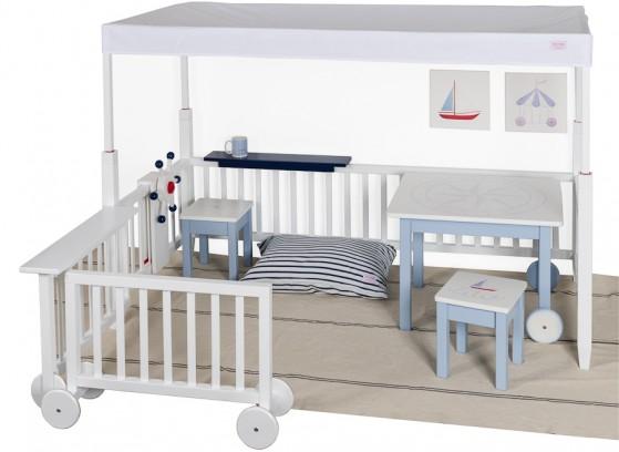 Habitación niño barco