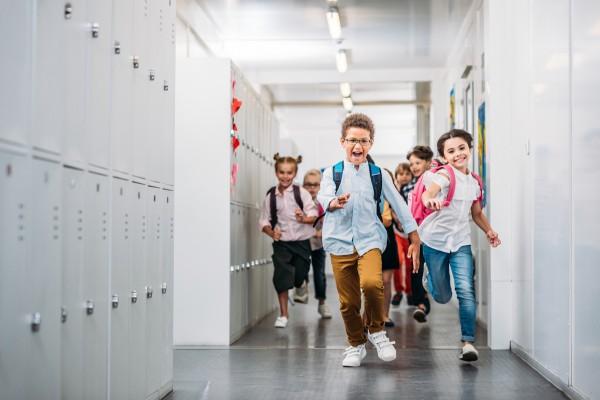 pasillo colegio
